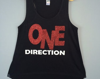 One direction tank top