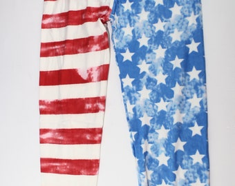 USA leggings/ Flag Leggings