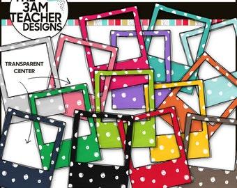Rainbow Doodle Photo Frames