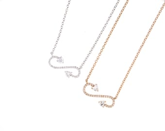 Open Infinity Necklace