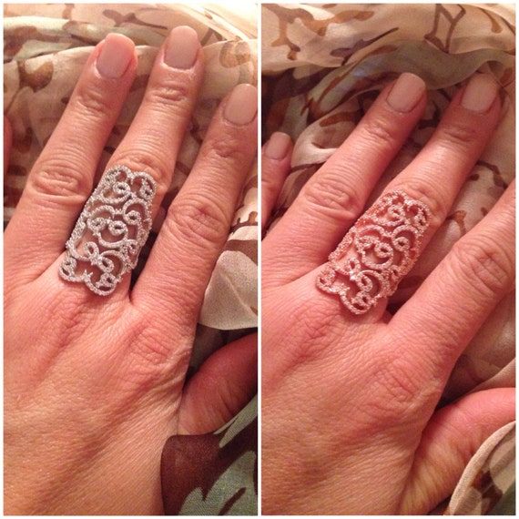 Tattoo Pave Ring