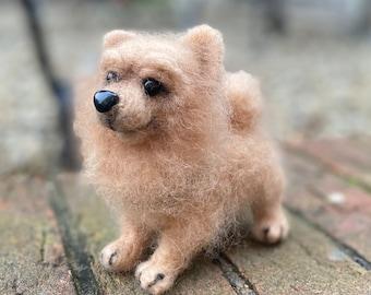 Woolfelted dog