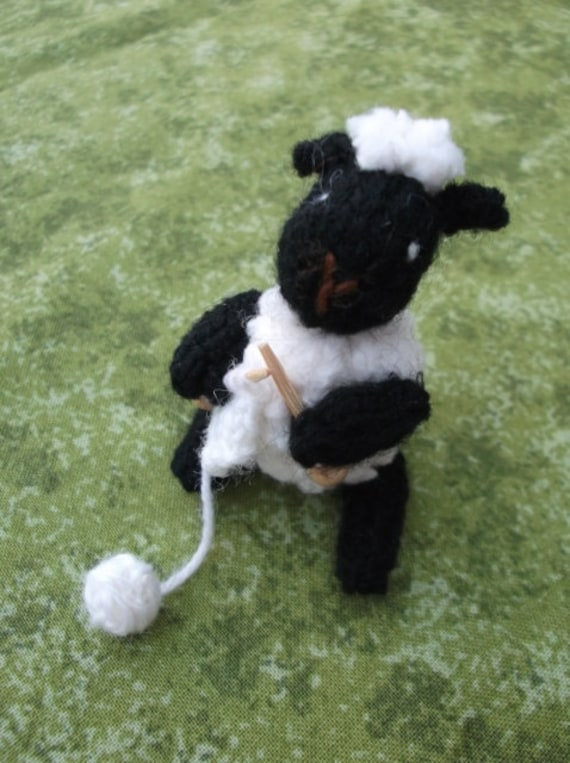 Knitting Lamb Knitting Pattern Pdf Etsy