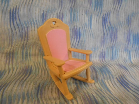 Fisher Price 1993 Loving Family Dream Doll House Nursery Pink Etsy