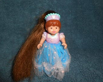 1995 Fisher Price Loving Family Doll -Princess - With Doll Hair