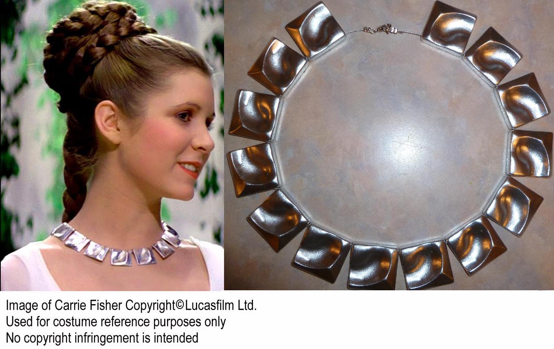 Star Wars Prinzessin Leia zeremoniellen Halskette Replik   Etsy