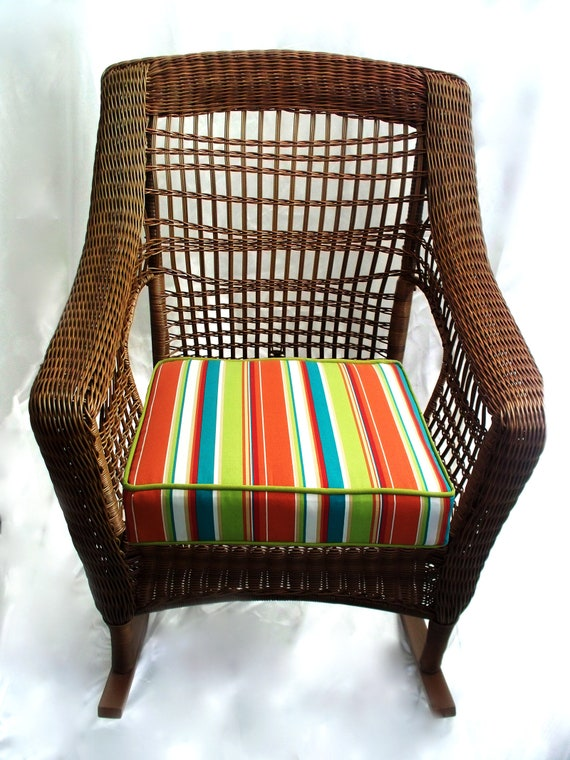 Wicker Cushion Deep Seat Furniture Cushions Replacement Etsy