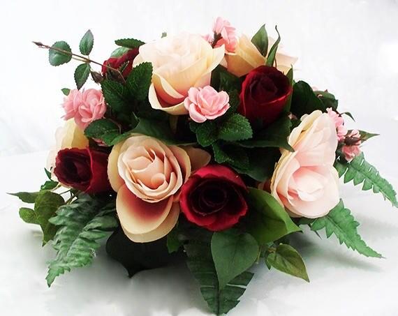 Tabel bruiloft eetkamer centerpieces roze tabel bloemen roze etsy
