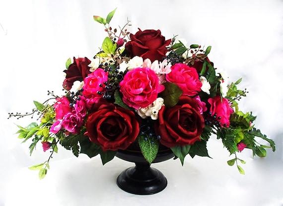 Dining Table Centerpiece Formal, Formal Dining Room Flower Arrangements