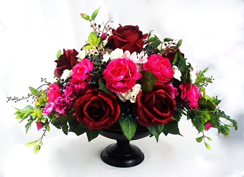 Dining Table Centerpiece Formal Flowers