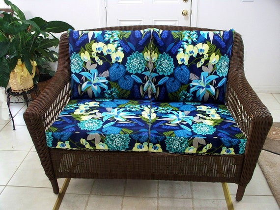 Superb Loveseat Cushions Outdoor Wicker Loveseat Cushions Set Wicker Couch Cushions Patio Replacements Porch Furniture Outside Chairs Lawn Alphanode Cool Chair Designs And Ideas Alphanodeonline
