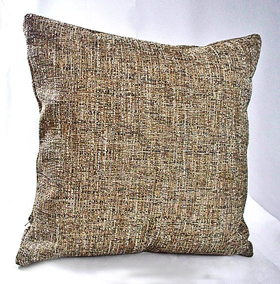 Brown decorative pillows Black and