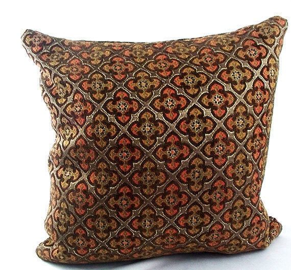 Brown Accent Pillows Brown Sofa Pillow Decorative Cushions Etsy