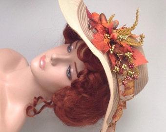Autumn Maiden Picture Hat