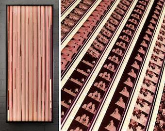 The Beatles Braverman Mix LIGHTBOX - Rare Vintage 16mm Film Collage - Large 58x22 Metal Light Box Led Lamp - Mini-Cinema Light Art