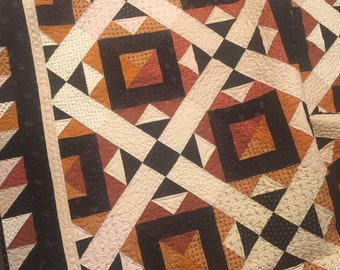 Pieces of Autumn Quilt pattern