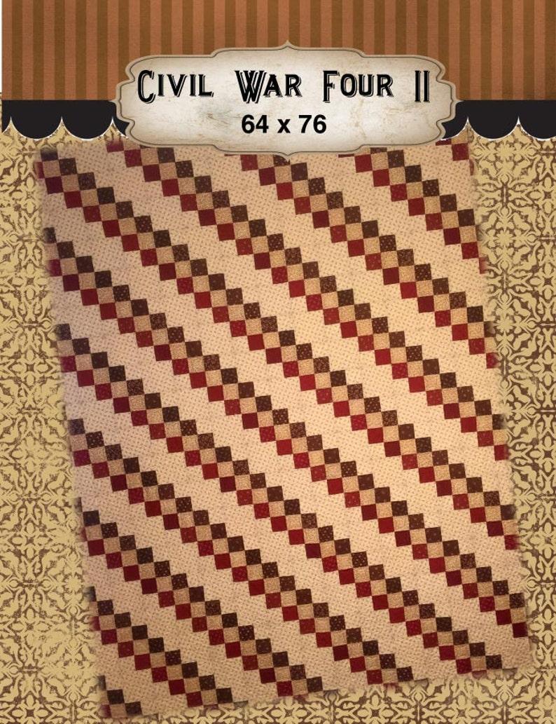 Civil War Four Quilt Kit