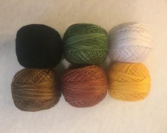 SALE on Valdani Pearl Cotton Harvest Variety pack #103 -  24.95