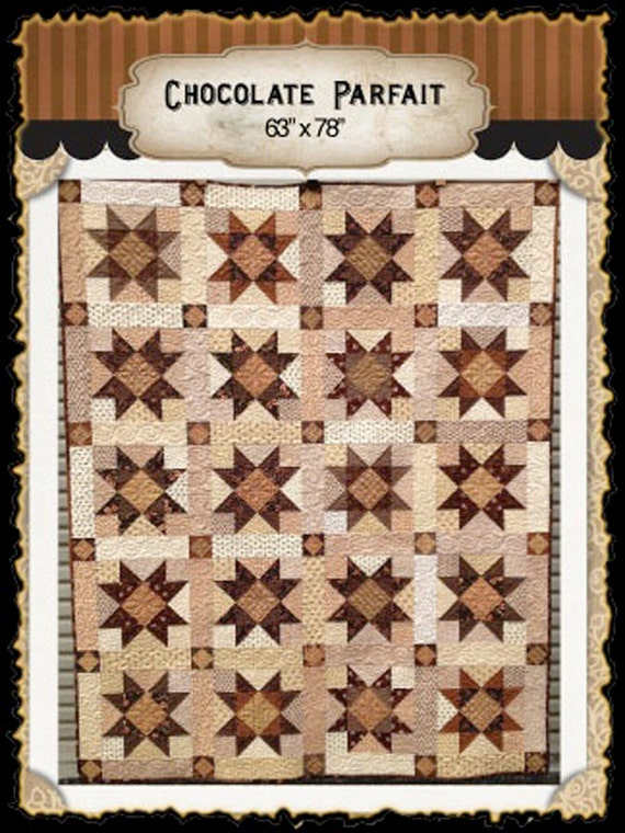 Chocolate Parfait PDF quilt pattern