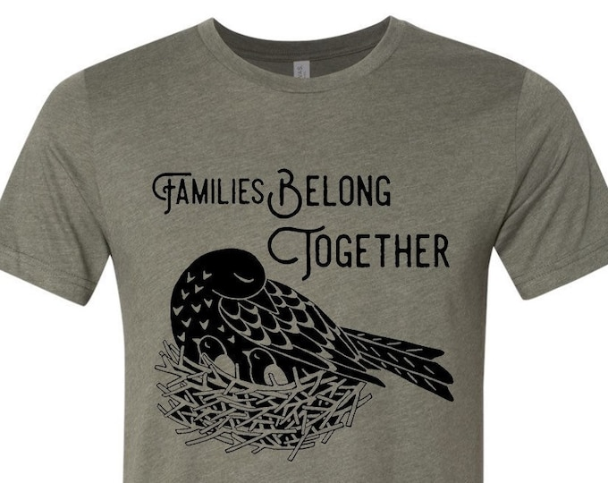 Families Belong Together Shirt - Donation Shirt