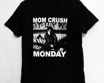 Mom Crush Monday Stranger Things Mashup Black shirt. S-XXXL.