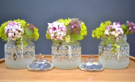 Vases Small Vases Glass Vase Wedding Vases Flower Etsy