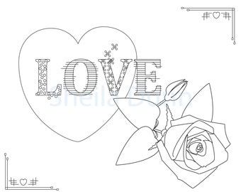 Christian Coloring Page: Treasures in Heaven Featuring