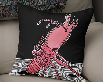 Termite - Illustrated Insect Cushion