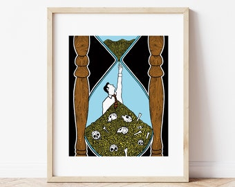 Time is running out - Giclee Print (Unframed)