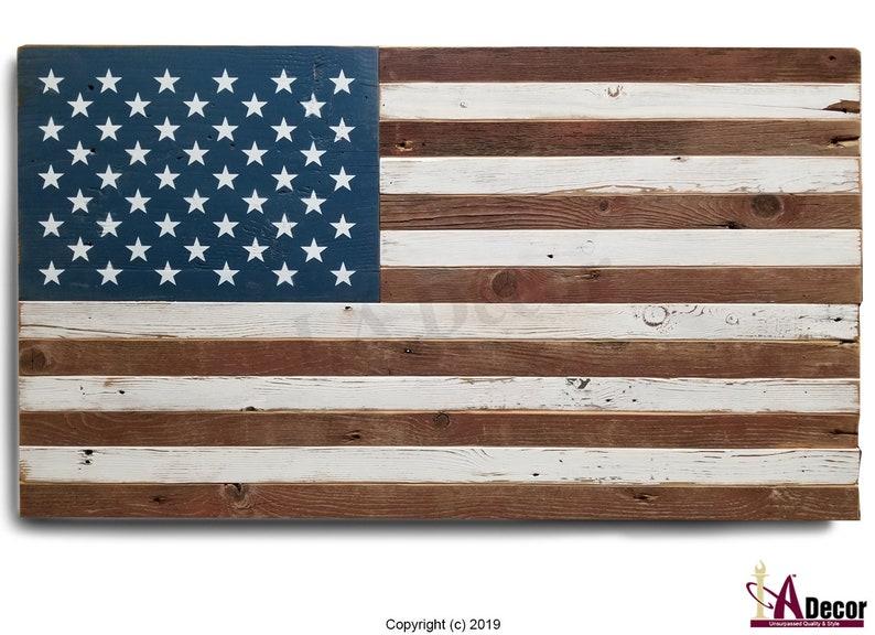 986d48c1186d Reclaimed Wood Flag American Flag USA Flag Rustic Flag