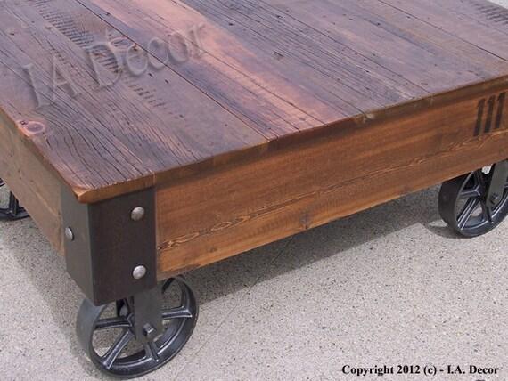 Usine Panier Coffe Table Table Basse En Bois Bois De Grange Cafe Table Table Basse Avec Roues Table A Cafe Rustique De Recuperation