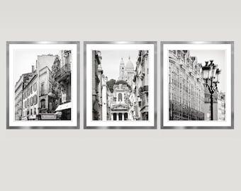 100 Dorcas Black White Wall Art Set 3 Cn A8000194 Wall Art Paris