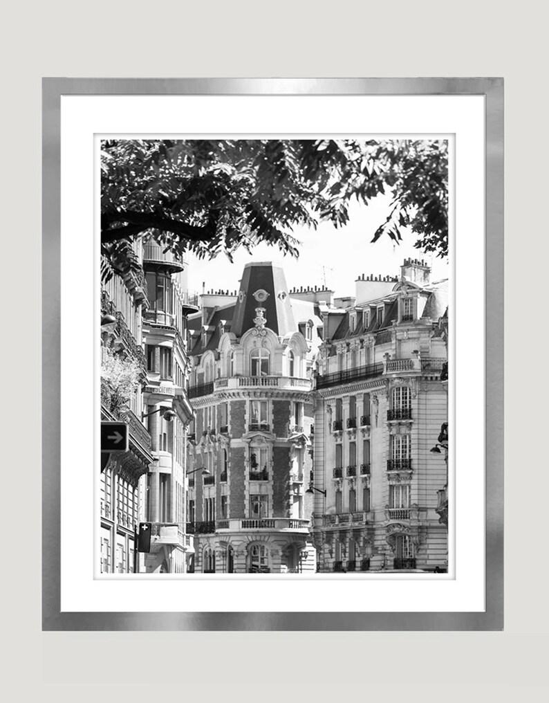 Paris black and white photography large wall art paris print architectural art city prints black white paris photo 12x16 16x20 vertical