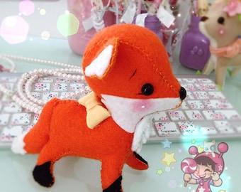Kawaii Felt Fox Doll