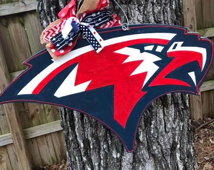 Oak mountain eagles door hanger