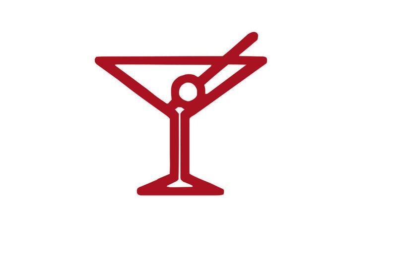 GSP Martini Glass File svg GSP Instant Download SVG
