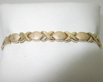 10K Solid Gold I Love You Bracelet | Size 7 B128