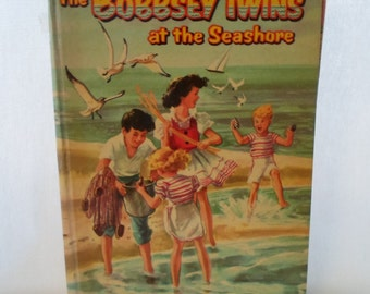 Book, Children's, The Bobbsey Twins, At The Seashore, Whitman Publishing Co. 1955, Second Edition, Hardcover, #1532, Collectibles, Vintage