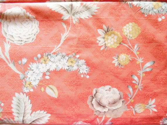 Jay Yang Floral Luxury Cotton Chintz Fabric Versailles Etsy