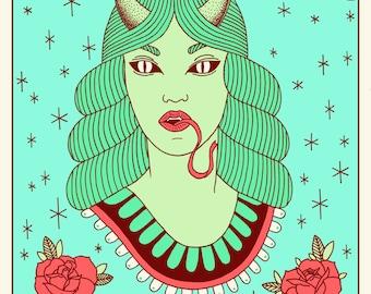 La Dama Demonio
