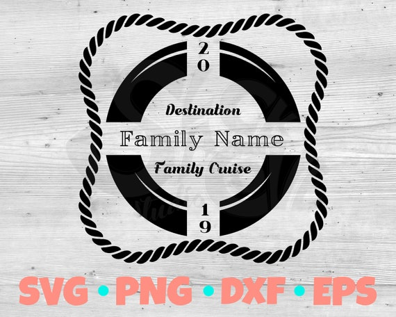 Cruise Shirt SVG | Family Vacation SVG | Nautical SVG | Cut file for Cricut and Silhouette