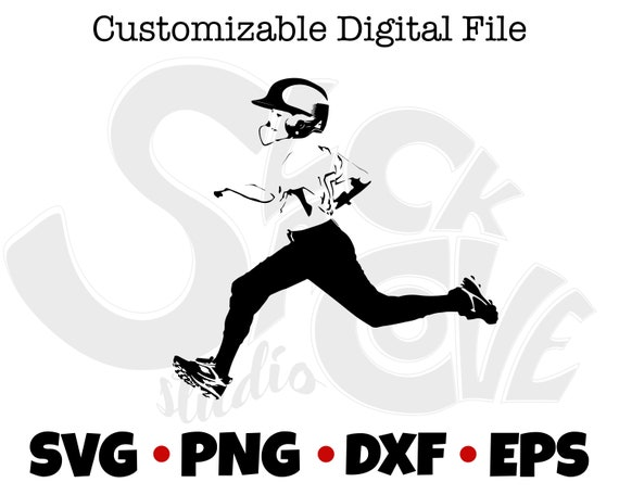 Baseball Player Cricut SVG Cut File | Player Gift SVG | Sports Gift SVG