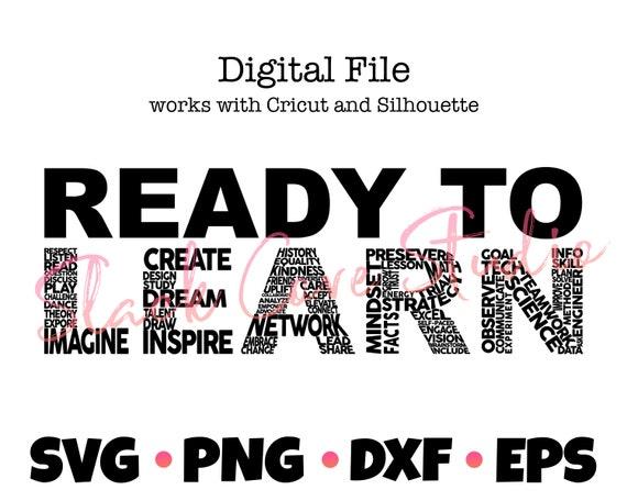 Back to School SVG | Teacher SVG | Learning Classroom Digital File