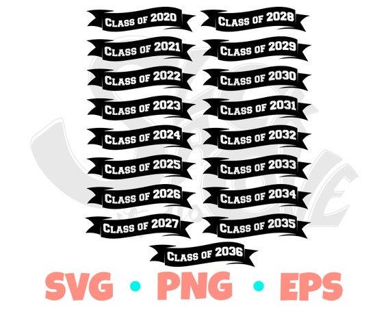 Class of 2020 SVG Cut File | Graduation SVG Design | First Day of School SVG
