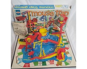 Vintage Mouse Trap Mousetrap Game Spare Repairs Parts 1963 Ideal Basket Box Bath