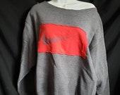 Nike Upcycled Off The Shoulder Sweatshirt Large