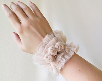 black wristlet Metallic white wristband crocodile embossed Double Cuff Leather cuff armband black nude handmade bracelet