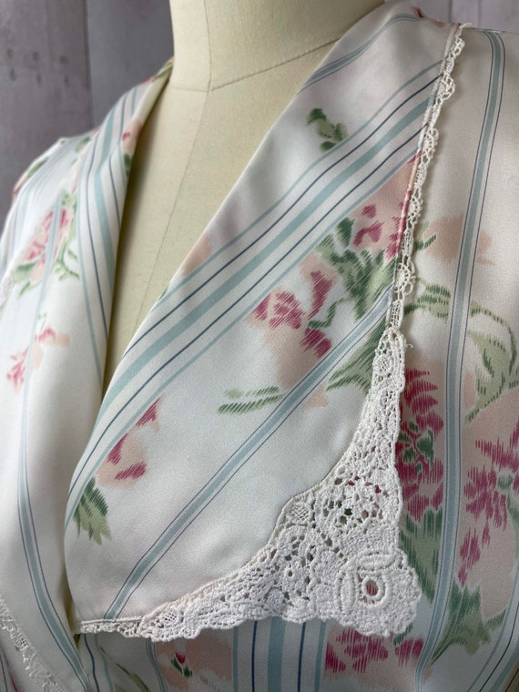 DIOR Vintage Nightgown 1980s Christian Dior Flora… - image 2