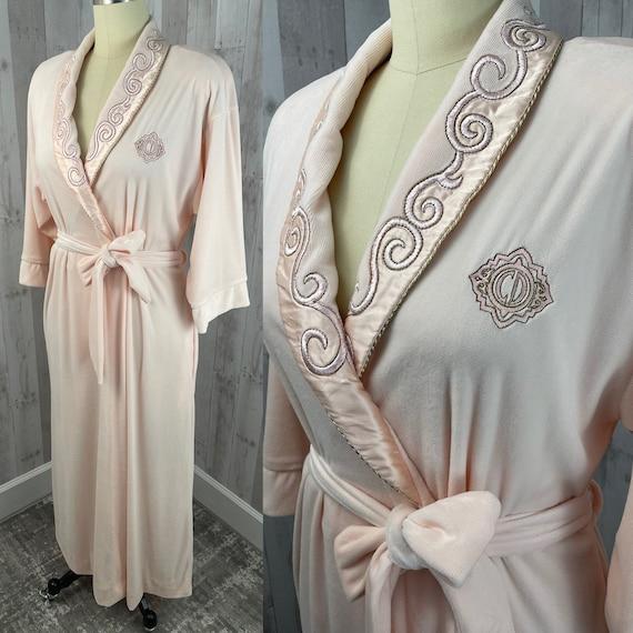DIOR Vintage 1980s Christian Dior Pale Pink Soft … - image 3