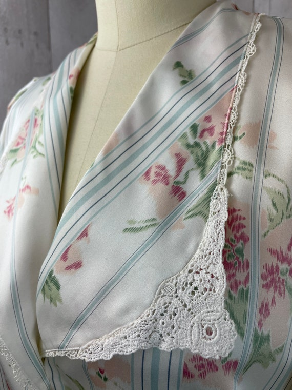 DIOR Vintage Nightgown 1980s Christian Dior Flora… - image 9